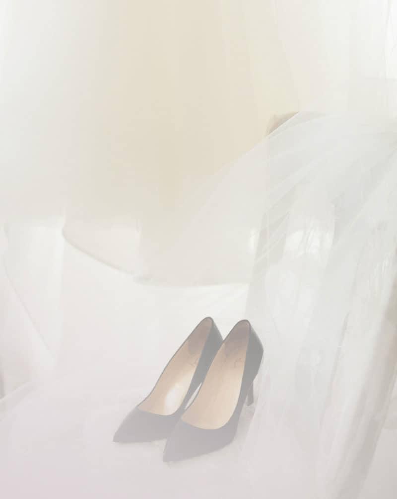 Bride Shoes at Heston Hills Event Center