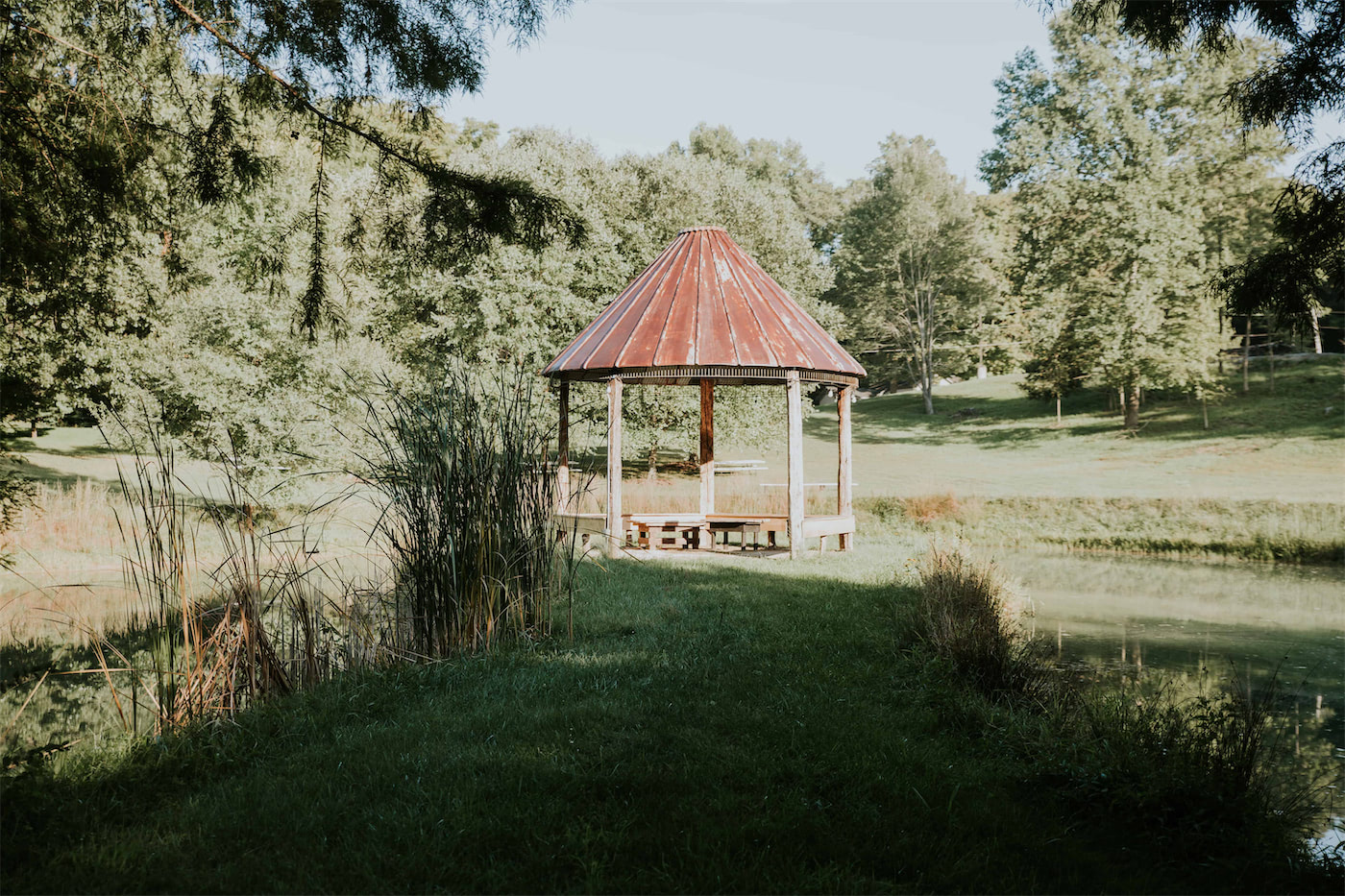 heston hills gazebo for weddings and corporate parties