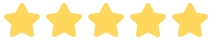 testimonial 5 stars rating symbol